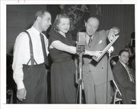 Martin Block, Jo Stafford, and Lloyd Shaffer