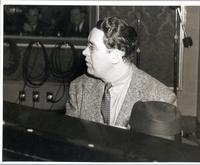 Joe Sullivan playing piano