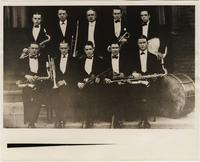 Bix Beiderbecke and an unidentified group