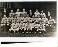 Unidentified group of baseball players