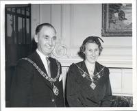 Lord Mayor Christopher Coffey and Lord Mayoress of Nottingham