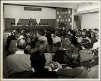 "Panel forum on ""The teen and their environment"" at the KC Mace Conference, 1967"