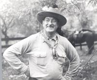 L. Perry Cookingham in Western wear