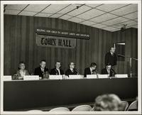 "Panel forum on ""Helping our child to accept limits and discipline"" at the KC Mace Conference, 1967"