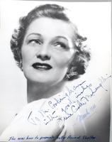Irene Castle McLaughlin signed publicity photo