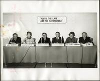 "Panel forum on ""Youth, the law, and the automobile"" at the KC Mace Conference, 1967"