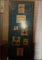 Martha Jane Starr's Boy Scout-themed needlepoint exhibit