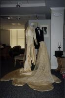 Martha Jane Starr's wedding gown and veil at Woolaroc