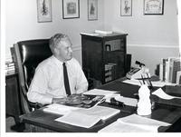 Richard Bolling in his office