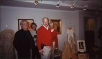 James Starr, Ellen Starr, John Philip Starr, and Barry Starr at Martha Jane Starr's Wedding exhibit at Woolaroc