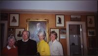 Unknown woman, James Starr, Barry Starr, Ellen Starr in Portrait Gallery at Woolaroc