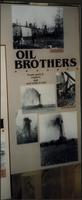 Oil Brothers photo display at Woolaroc