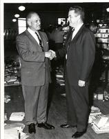 Postmaster Ted Bland and Richard Bolling