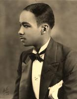 Buck Clayton in his first tuxedo