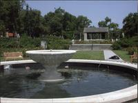 Fountain and Pavilion at Loose Park Rose Garden