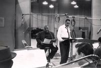 Buck Clayton recording with Jimmy Rushing