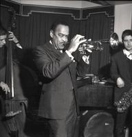 Buck Clayton playing trumpet