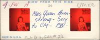Mrs. Gwen Armstong - Secy to Cm - FW