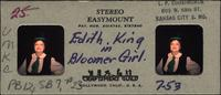 Edith King in Bloomer Girl