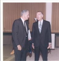 Richard Bolling speaking with Walter Cronkite