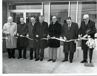 Richard Bolling at a ribbon-cutting ceremony