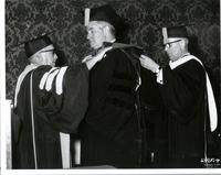 Richard Bolling receiving an honorary degree