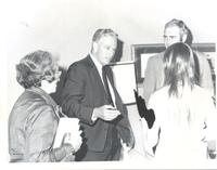 Richard Bolling with Jim Bolling and an unidentified woman and man
