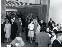 Unidentified people inside the Federal Information Center