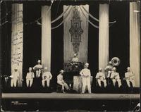 Buck Clayton Band at Pantages, Portland, Oregon, 1933 - autographed
