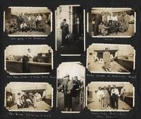 Photo album page of the Harlem Gentlemen band in China