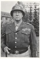 Autographed photo of General George Patton