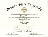 Honorary J.D., Western State University