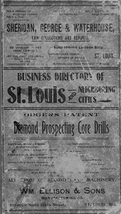 Watson & Co.'s Classified Business Directory of St. Louis and Other Enterprising Cities of Missouri and Illinois, 1899-1900