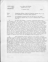 M-306: Early Account of Pearl Harbor Bombing