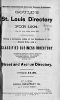 Gould's St. Louis Directory for 1904