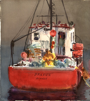 Men in Red Boat