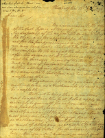 George Washington to To Hon.able James Wood. [Forgery]