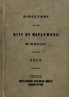 Directory of the City of Maplewood Missouri