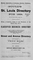 Gould's St. Louis Directory for 1906