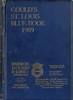 Gould's Blue Book, for the City of St. Louis. 1909