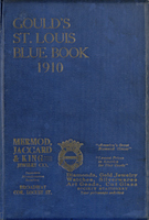 Gould's Blue Book, for the City of St. Louis. 1910