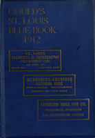 Gould's Blue Book, for the City of St. Louis. 1912