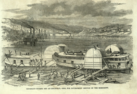 Gun-Boats Fitting Out at Cincinnatti