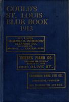 Gould's Blue Book, for the City of St. Louis. 1913
