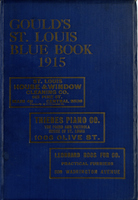 Gould's Blue Book, for the City of St. Louis. 1915