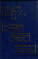 Gould's Blue Book, for the City of St. Louis. 1916