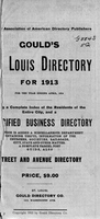 Gould's St. Louis Directory for 1913