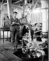Engine room of Gen. J. H. Simpson
