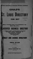 Gould's St. Louis Directory for 1917