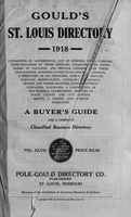Gould's St. Louis Directory for 1918